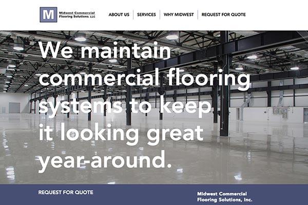midwest flooring site design